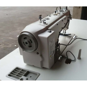 Computerized Flatbed Thick Material Auto Trim Sewing Machine (ZH202) pictures & photos