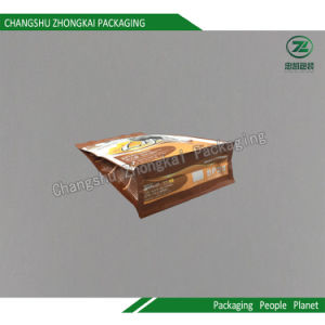 Flat Bottom Bag Laminated Box Pouch Pet Food Coffee Powder pictures & photos