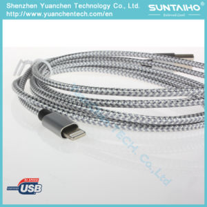 Silver Fast Charger Lightning Cable for iPhone5/6/7 pictures & photos
