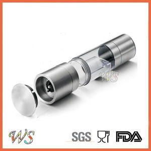 Ws-Pg020 2 in 1 Manual Salt and Pepper Grinder with Adjustable Ceramic Grinding pictures & photos