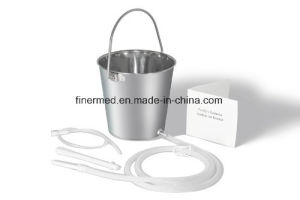 Medical Stainless Steel Enema Bucket pictures & photos