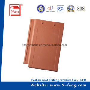 High Quality Clay Roofing Tile Classic Flat Type Roof Tile Made in China 270*400mm pictures & photos
