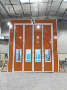 Wld-RS High Quality Industrial Transformer Spray Booth with Roof Open/ Roof Slot pictures & photos