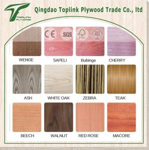 High Quality Low Price Red Oak Fancy Plywood /Commercial Plywood/ Laminated Plywood pictures & photos