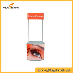 Advertising Portable Counter with Top Board, Pop up Counter pictures & photos