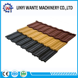 Amazing Light Weight Stone Coated Metal Nosen Roof Tile pictures & photos