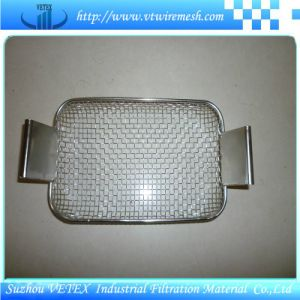 Acid-Resisting Stainless Steel Wire Mesh Basket pictures & photos