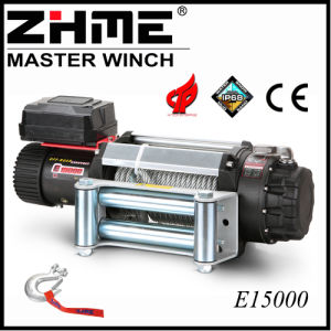 15000lbs Electric 12V for Jeep Winch with Hook pictures & photos