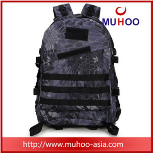 Black Outdoor Waterproof Duffle Hiking Backpack for Men pictures & photos