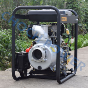 4′′ Water Cooled Electric 186fa Engine Diesel Centrifugal Water Pump Set pictures & photos