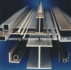 U Channel/Fiberglass GRP pultruded profiles pictures & photos