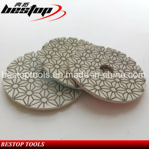 Bestop Good Quality Resin Polishing Pads for Marble/Terrazzo pictures & photos