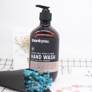 Natural Moisturizing and Antibacterial Orange&Almond Hand Wash pictures & photos