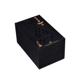 Hollow out Protection Bone Wine Box