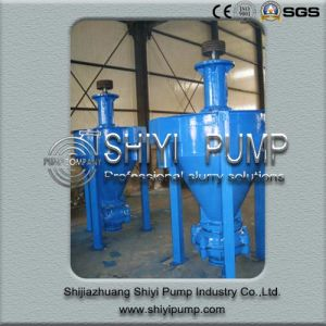 Minerals Handling Centrifugal Vertical Froth Slurry Pump pictures & photos