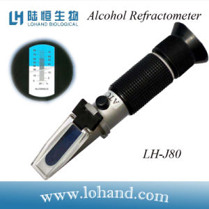 Portable Metal Material Test Range 0-80% Alcohol Refractometer (LH-J80) pictures & photos