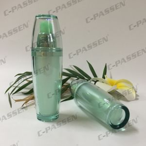 New Arrival Green Acrylic Lotion Bottle for Cosmetic Packaging (PPC-ALB-060) pictures & photos
