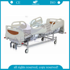 AG-Bys106 Two Functions Hospital Manual Bed pictures & photos