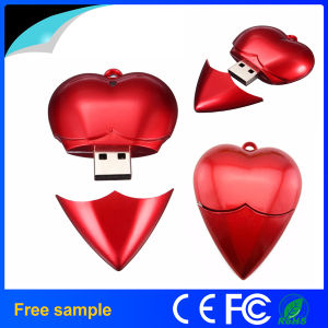 Wedding Gifts Red Heart Shape USB Flash Drive 4GB 8GB pictures & photos