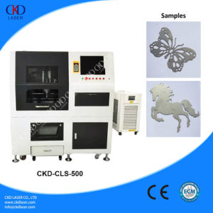 Desktop Laser Cutting Machine for Metal pictures & photos