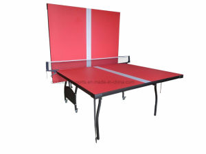 Cheap Double Folding Table Tennis Table pictures & photos