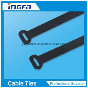 Epoxy Full Coated Ball Locked Stainless Steel Cable Ties pictures & photos