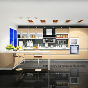 High Glossy Lacquer BMW Series MDF Kitchen Furniture pictures & photos