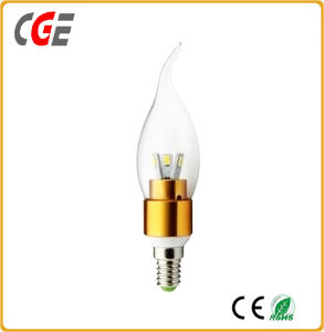 LED 5W Tailed Candle Bulb with Ce RoHS Certifications pictures & photos