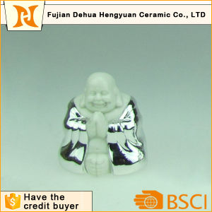 Silver Plating Ceramic Buddha for Home Decoration pictures & photos