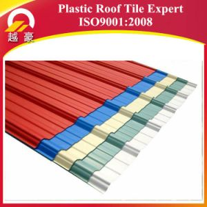 3layers Fireproof Blue Plastic Roof Tile 1130mm pictures & photos