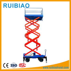 500kg Light Weight Scissors Mobile Hydraulic Lift Table pictures & photos