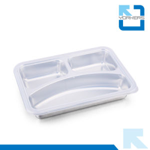 Stainless Steel Food Tray Dinner Tray for Child pictures & photos
