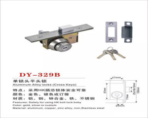 Kfc Cross Keys Aluminum Alloy Furniture Door Lock pictures & photos