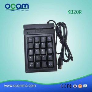 Kb20r POS Micro USB Mini Programmable Magnetic Keyboard pictures & photos