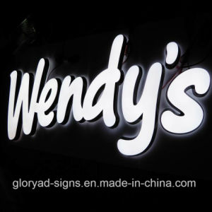 Customized Outdoor LED Acrylic Metal Channel Letters pictures & photos