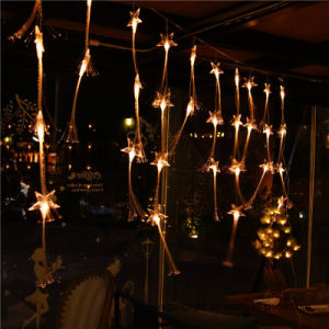 LED Curtain Light Fiber Optic String Light for Holiday/Home/Christmas Decoration pictures & photos