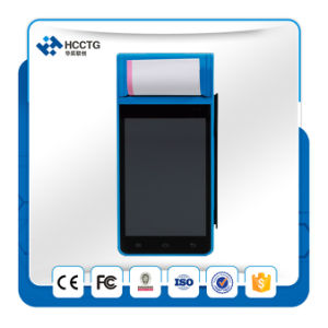with 3 in 1 Card Reader Barcode Scanner 58mm Printer All in One Android POS System (Z90) pictures & photos