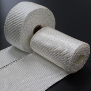 Silica Exhaust Insulation Thermal Bandage pictures & photos