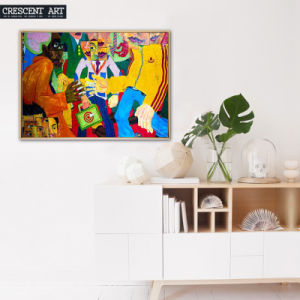 2017 New Street Wall Art Cotton Canvas Oil Painting pictures & photos
