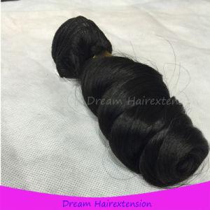 Premium No Fiber Loose Wave Hair Peruvian Remy Human Virgin Hair pictures & photos