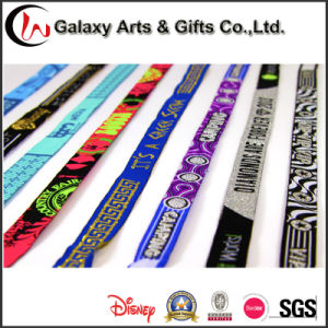 China Wholesale High Quality Custom Logo Fabric Concert Woven Wrist Bands