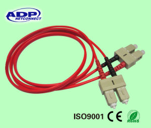 OEM 10 30 Meter St Sc Tc LC FC Connector Sm or mm Fiber Optic Cable Patch Cord pictures & photos
