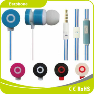 3.5mm Earbuds Noise-Cancelling Earphone for Mobile Phone MP3 Player pictures & photos