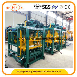 Qtj4-25b Automatic Cement Brick Making Machine pictures & photos