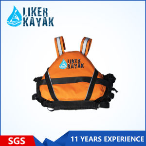 400d Terylene Oxford Textile Rescue Life Vest for Water Sports for Adults pictures & photos