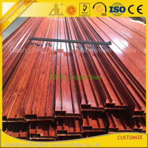 China Aluminum Factory Wooden Print Aluminum Frame for Sliding Window pictures & photos