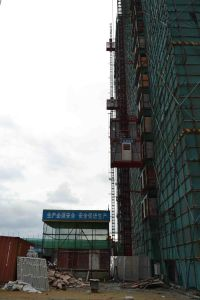 Construction Machinery Wire Rope Hoist Elevator pictures & photos
