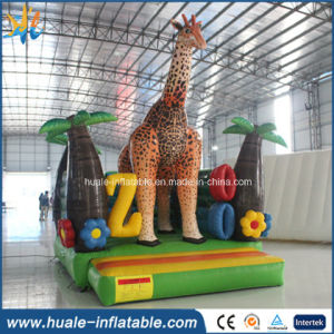 Animal Theme Deer Shape Inflatable Bouncer Castle Jumper Bed pictures & photos