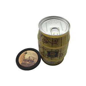 140g Coffee Tin Big Belt Pull-Tab Coffee Packaging Tin Box pictures & photos