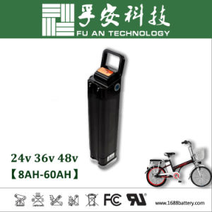 Silver Fish 48V 10ah Li-ion Battery Pack for E-Bike pictures & photos